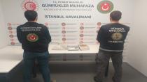 İstanbul Havalimanında Kokain Yakalaması