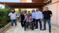 İDLİP'TEN ELBİSTAN'A AKÜLÜ ENGELLİ ARACI!